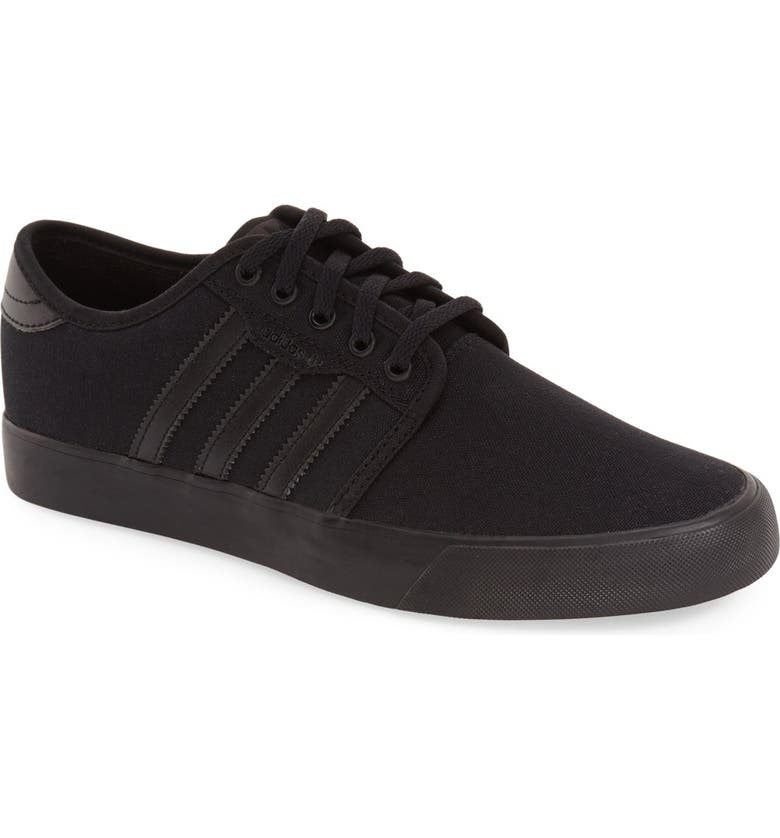 ADIDAS Seeley Skate Sneaker, Main, color, CORE BLACK