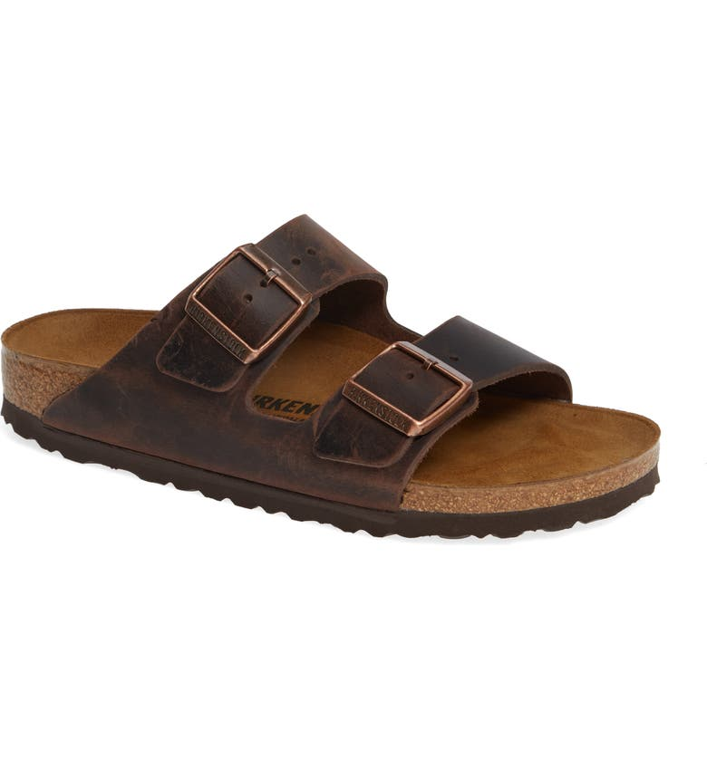 BIRKENSTOCK Arizona Sandal, Main, color, HABANA OILED