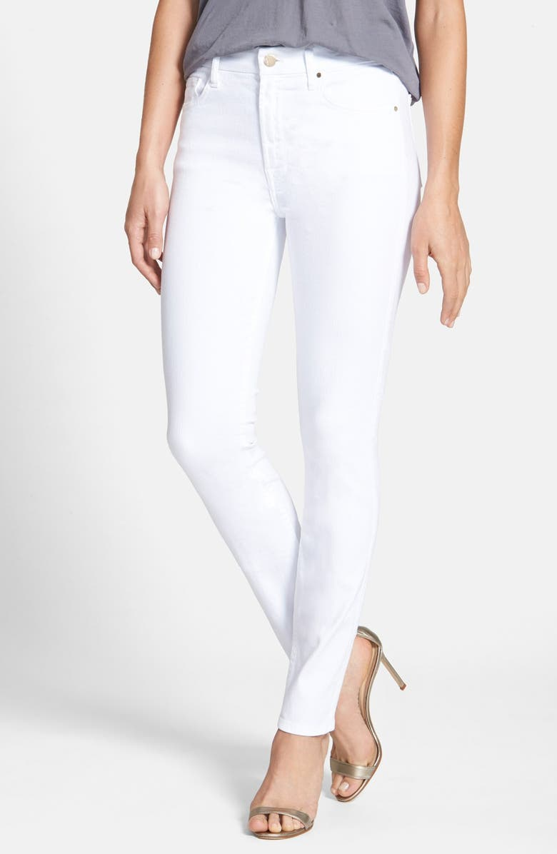 JEN7 by 7 For All Mankind Stretch Skinny Jeans, Main, color, 101