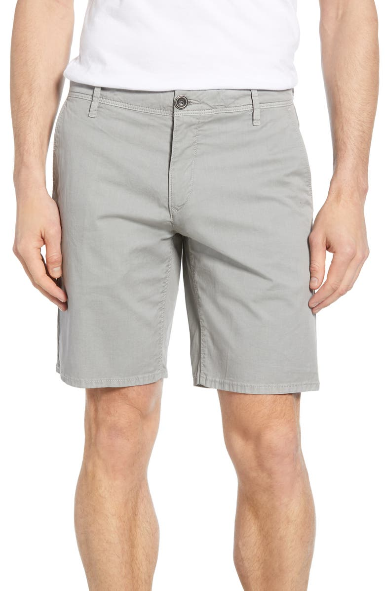 RODD & GUNN The Peaks Regular Fit Shorts, Main, color, STONE