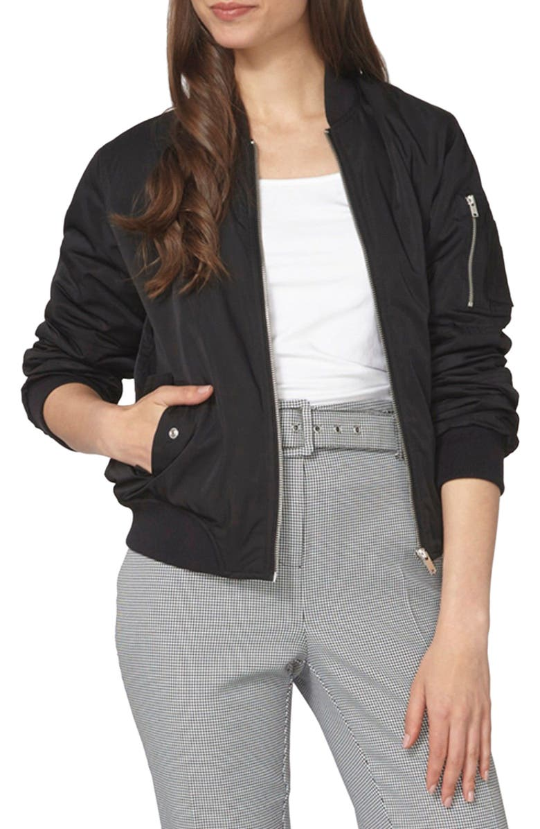 DOROTHY PERKINS MA1 Bomber Jacket, Main, color, 001