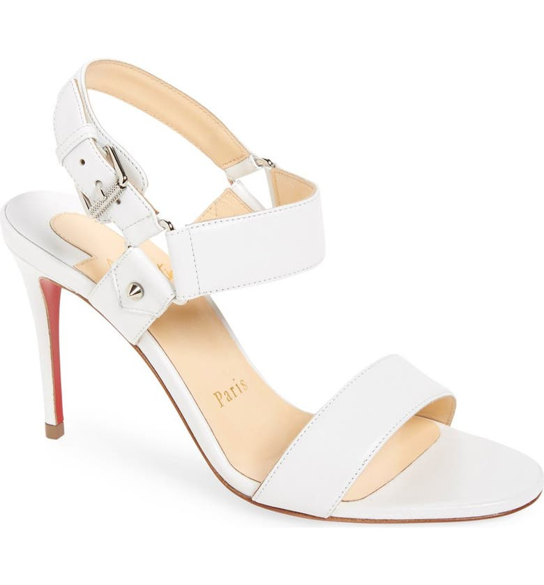 CHRISTIAN LOUBOUTIN 'Sova' Sandal, Main, color, 100
