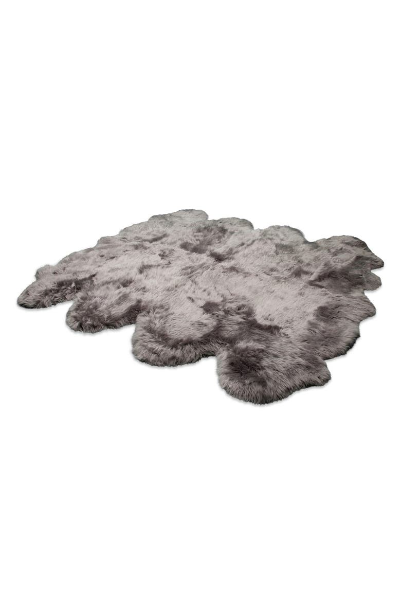 UGG<SUP>®</SUP> Genuine Sheepskin Rug, Main, color, 020