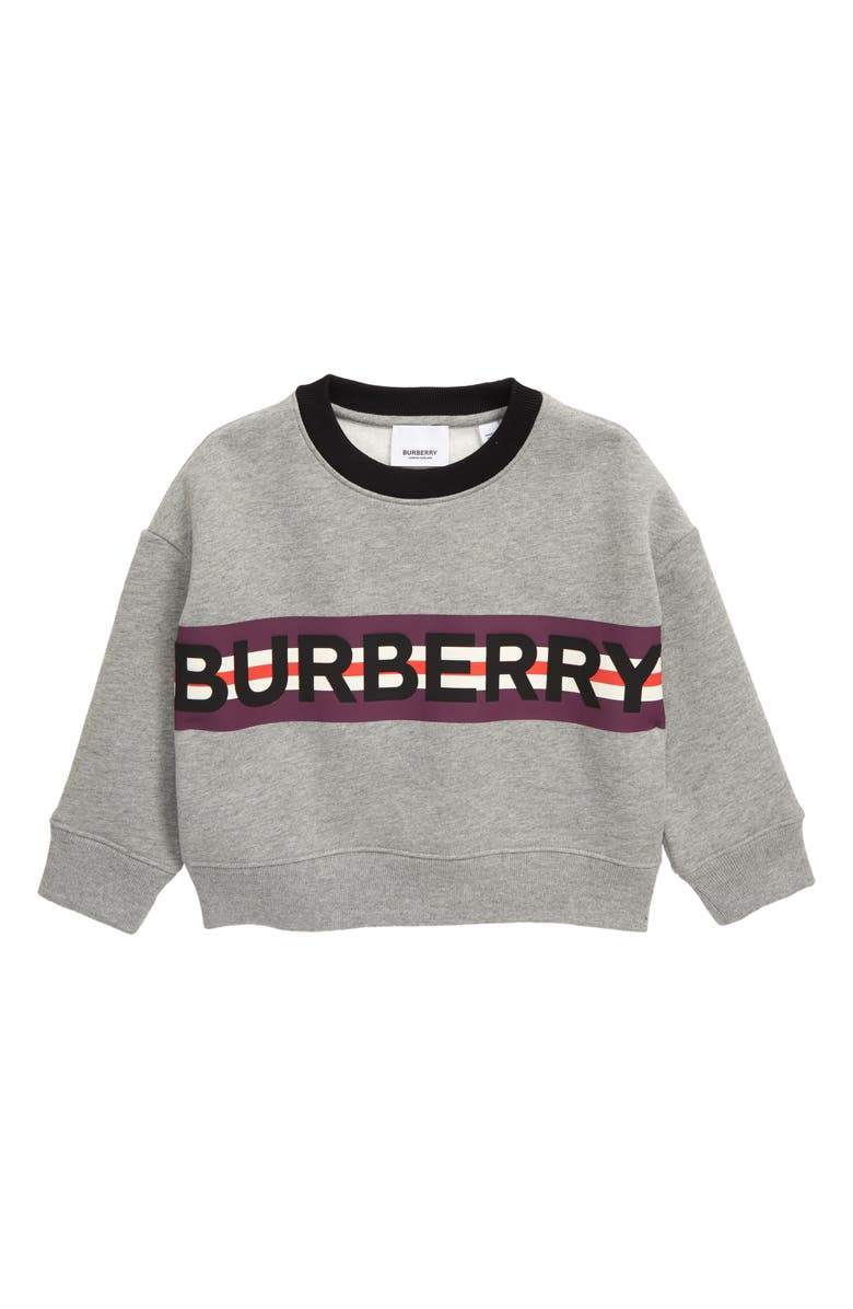 BURBERRY Marlon Sweatshirt, Main, color, 020