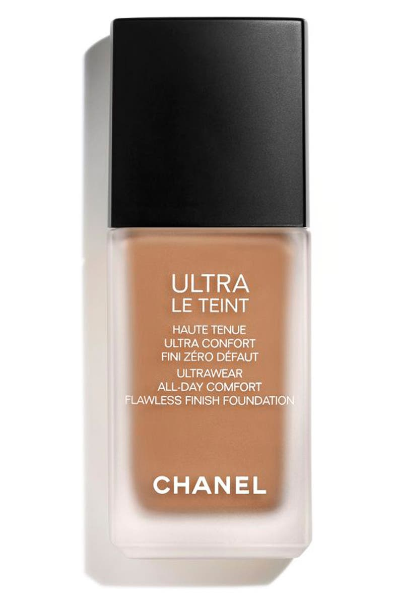 CHANEL ULTRA LE TEINT <br />Ultrawear All-Day Comfort Flawless Finish Foundation, Main, color, BR132