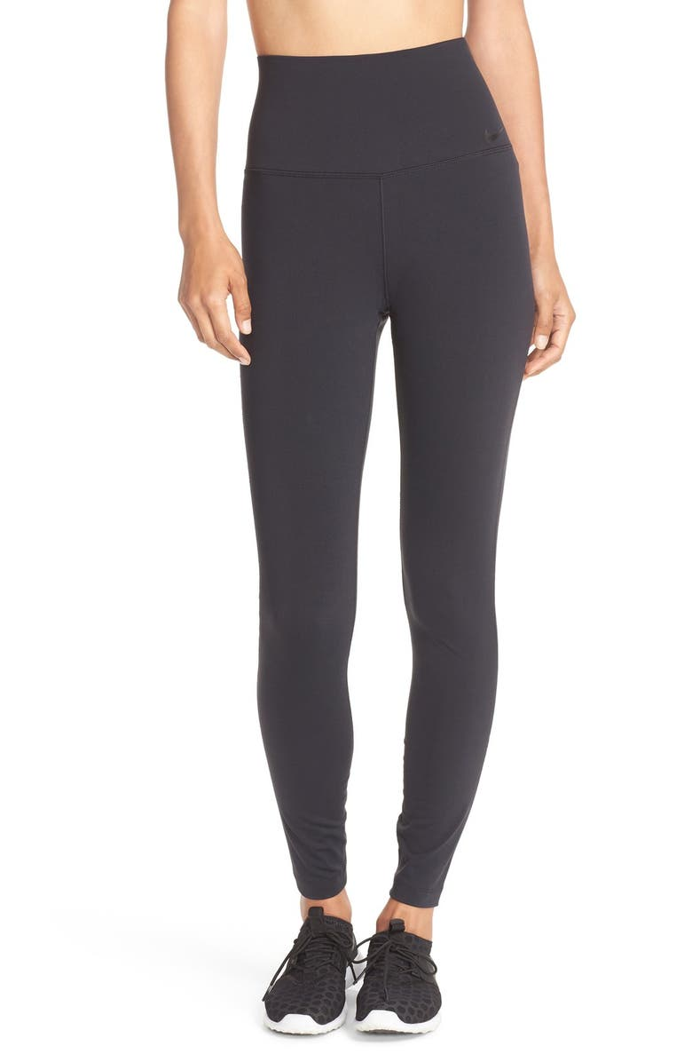 NIKE Power Legendary High Waist Tights, Main, color, 010