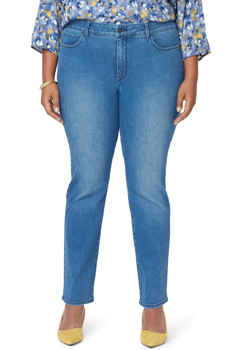NYDJ Marilyn Straight Leg Jeans, Main, color, ADMIRATION