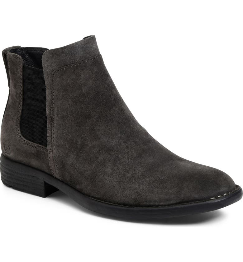 BORN Børn Chelsea Boot, Main, color, GREY LEATHER