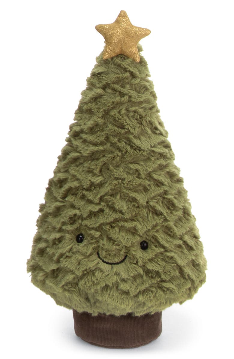 JELLYCAT Amusables Small Christmas Tree Plush Toy, Main, color, 300