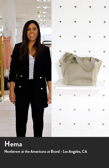 Grand Shopper Leather & Suede Tote, sales video thumbnail