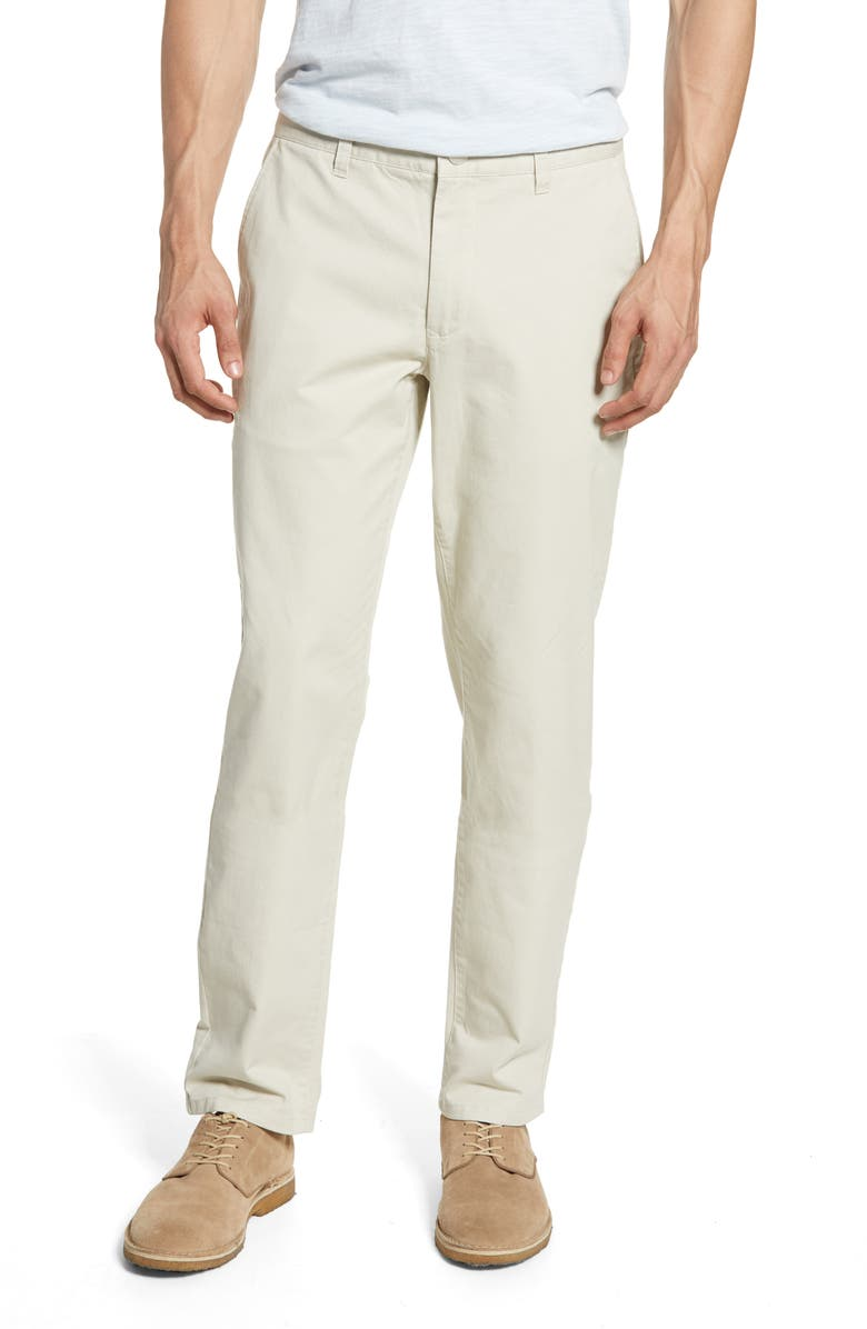 BONOBOS Athletic Stretch Washed Chinos, Main, color, WHEAT