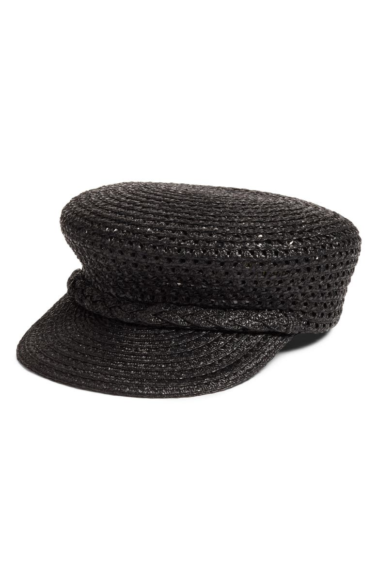 ERIC JAVITS Capitan Squishee<sup>®</sup> Cap, Main, color, BLACK