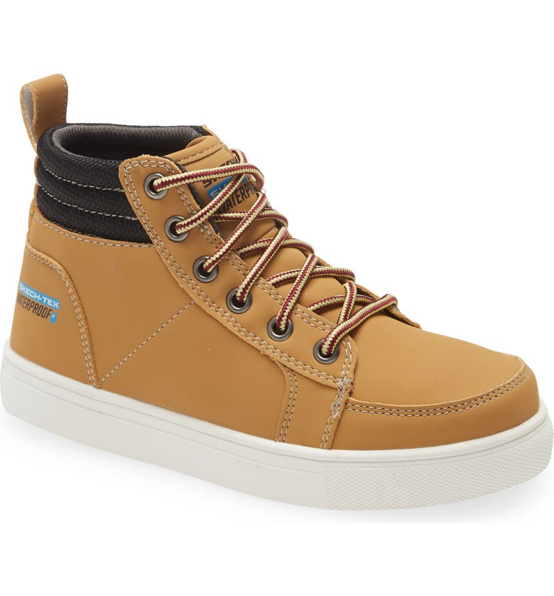 SKECHERS City Point Boot, Main, color, WHEAT NUBUCK