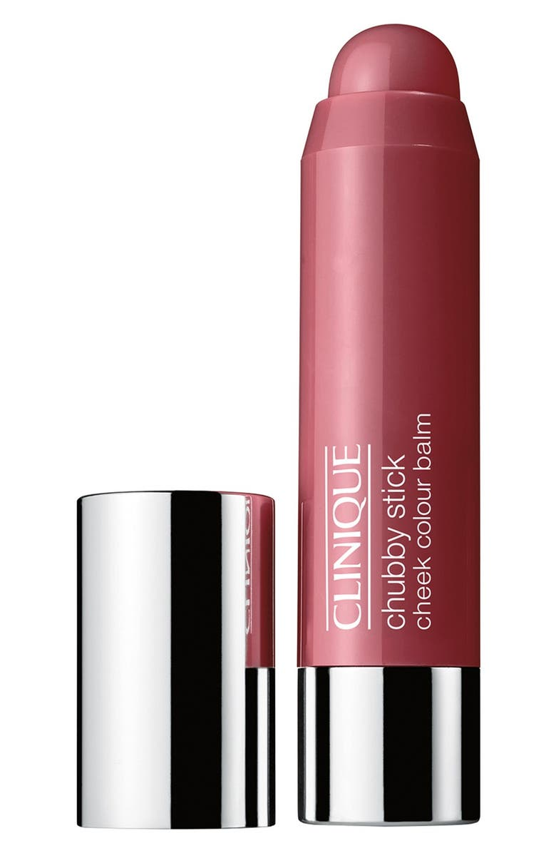 CLINIQUE Chubby Stick Moisturizing Cheek Color Balm, Main, color, PLUMPED UP PEONY
