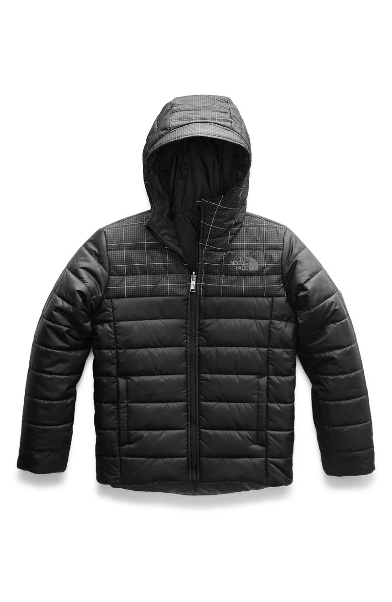 THE NORTH FACE Perrito Reversible Water Resistant Jacket, Main, color, 001