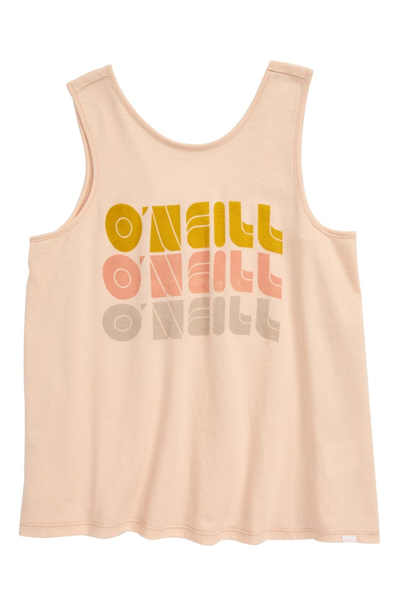 O'NEILL Shape Shifter Screenprint Tank Top, Main, color, 694