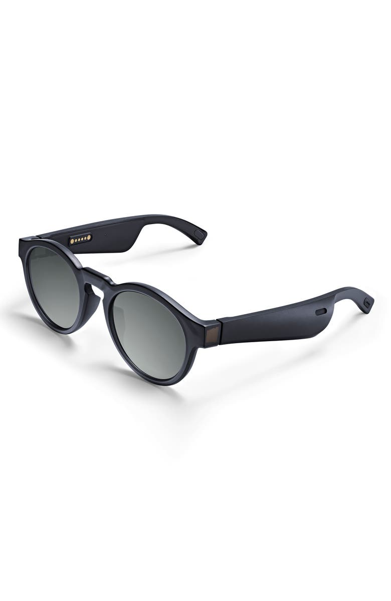 BOSE<SUP>®</SUP> Frames Rondo 49.5mm Audio Sunglasses, Main, color, Black