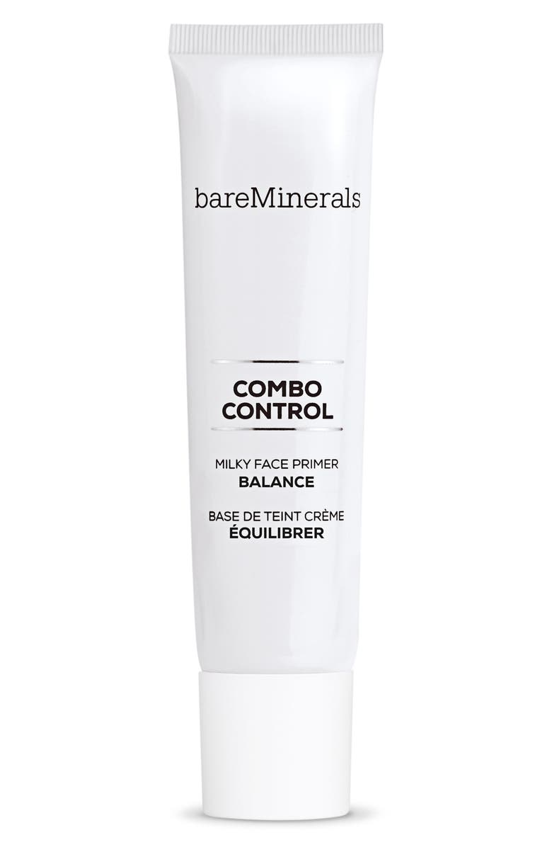 BAREMINERALS<SUP>®</SUP> Combo Control Milky Face Primer, Main, color, NO COLOR