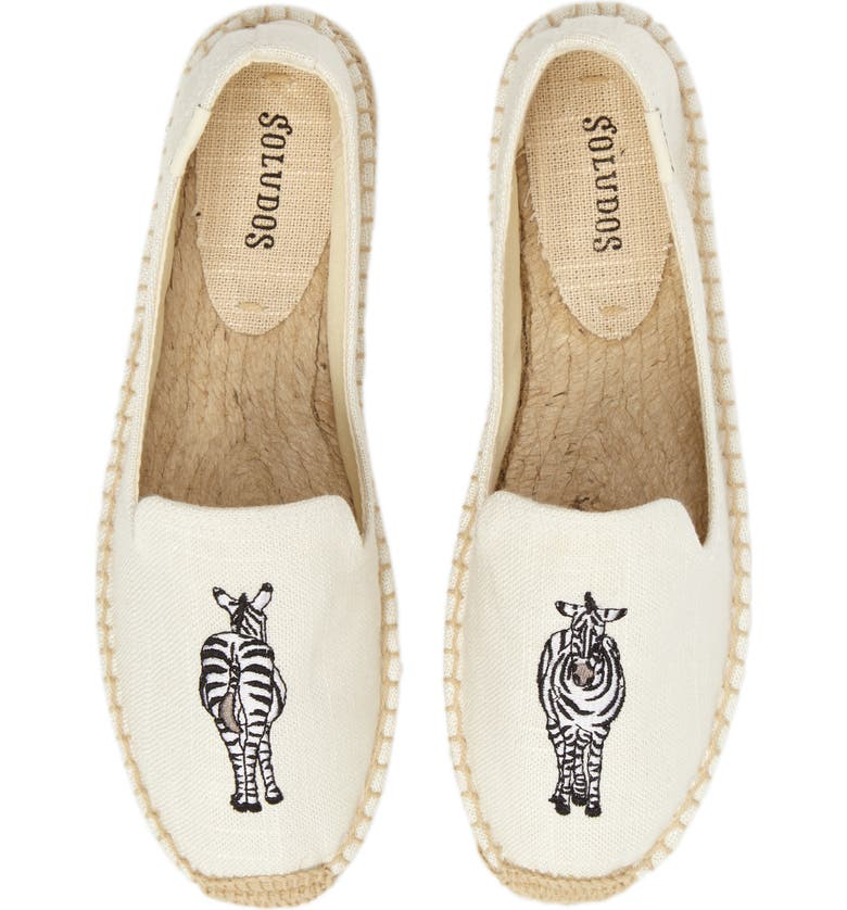 SOLUDOS Embroidered Espadrille Slip-On, Main, color, 250