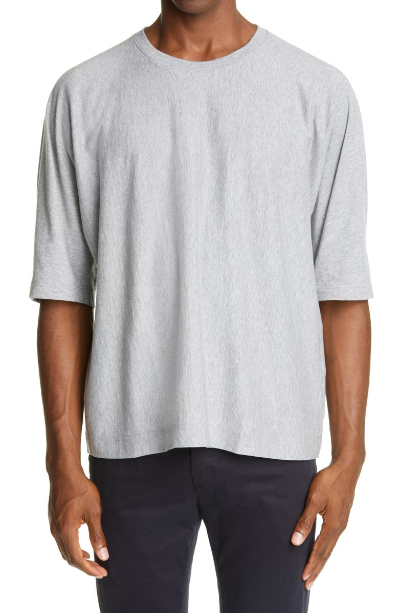 HOMME PLISSÉ ISSEY MIYAKE Release T-Shirt, Main, color, GREY