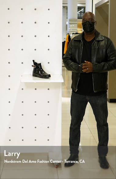 Original Refined Quilted Gloss Chelsea Waterproof Boot, sales video thumbnail