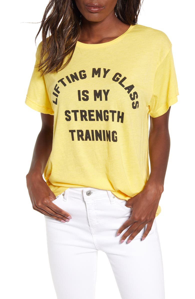 WILDFOX Strength Training Graphic Tee, Main, color, 728