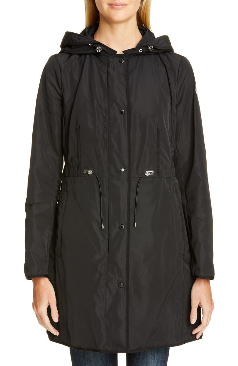 MONCLER Anthemis Raincoat, Main, color, 001
