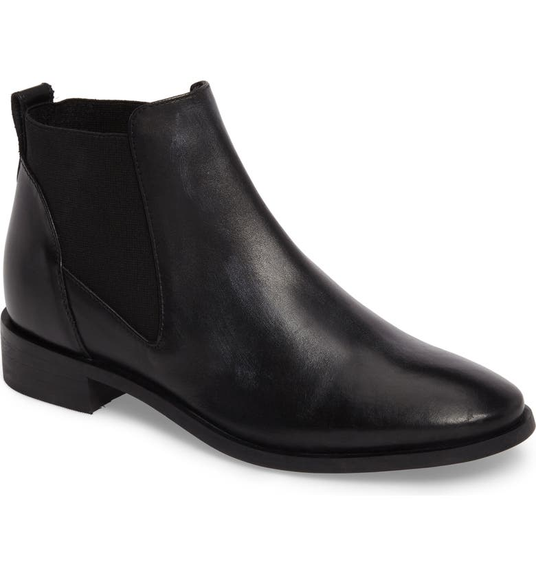 TOPSHOP King Chelsea Boot, Main, color, 001