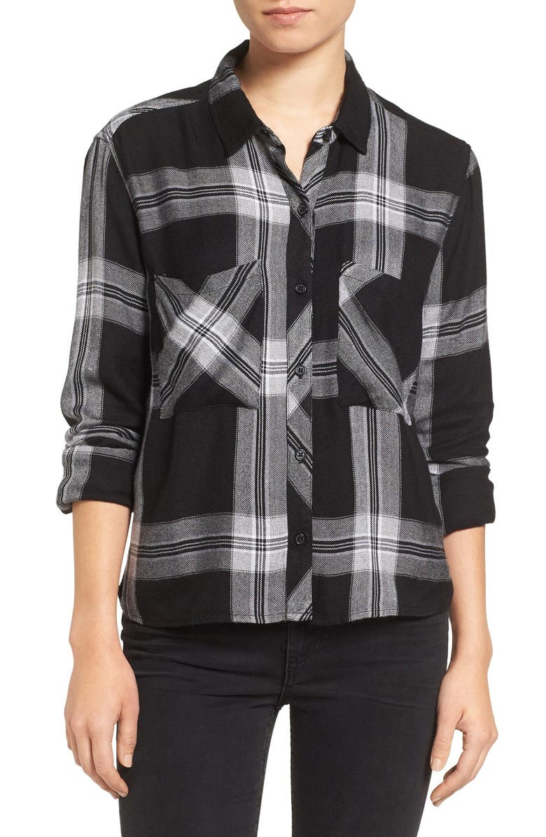 RAILS 'Dylan' Plaid Shirt, Main, color, 007