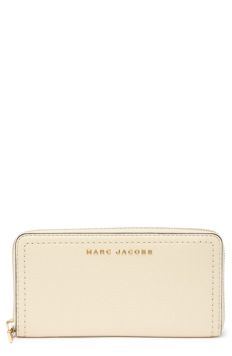 MARC JACOBS Standard Continental Wallet, Main, color, MARSHMALLOW
