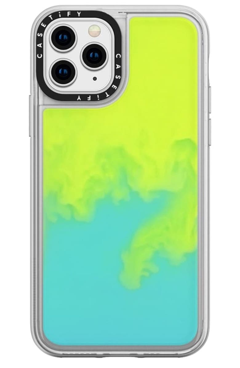 CASETIFY Neon Sand iPhone 11/11 Pro Max Case, Main, color, 300