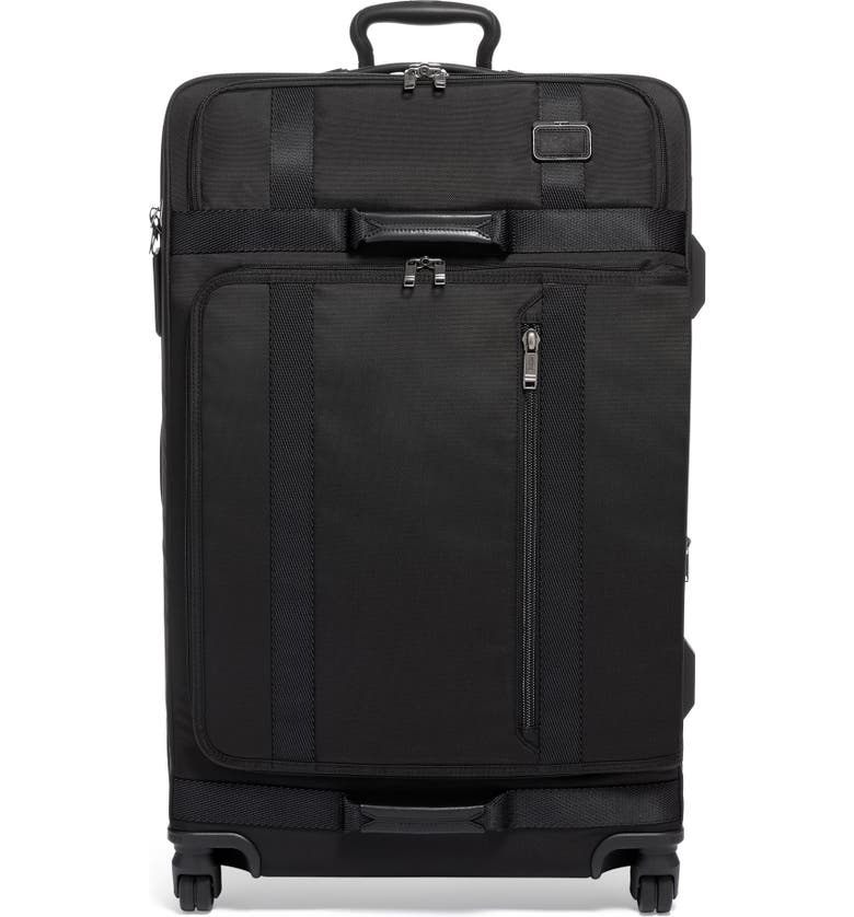 TUMI Merge 31-Inch Recycled Extended Trip Expandable Rolling Suitcase, Main, color, BLACK