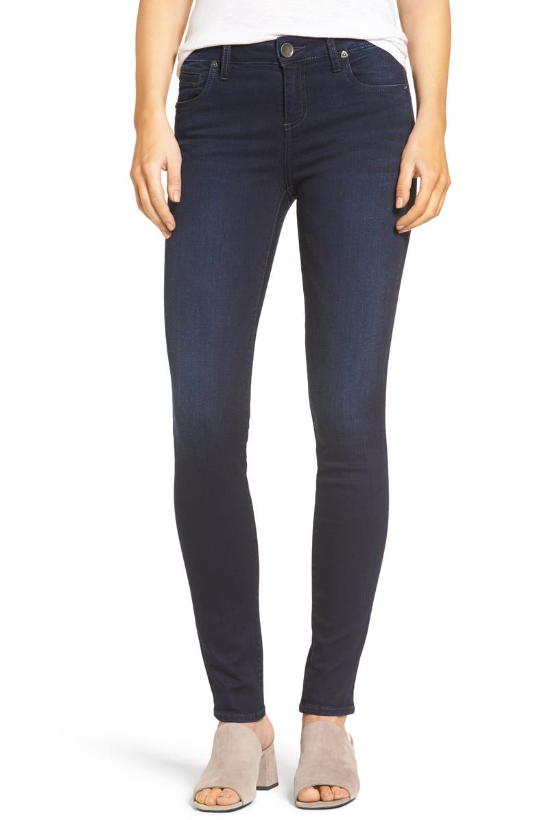 KUT FROM THE KLOTH Diana Stretch Skinny Jeans, Main, color, 490