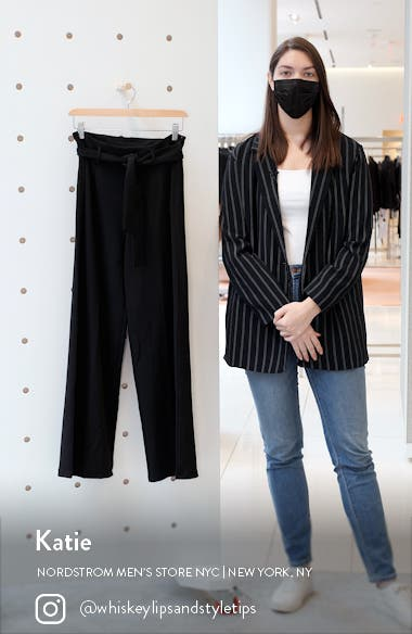 Belted High Waist Pants, sales video thumbnail
