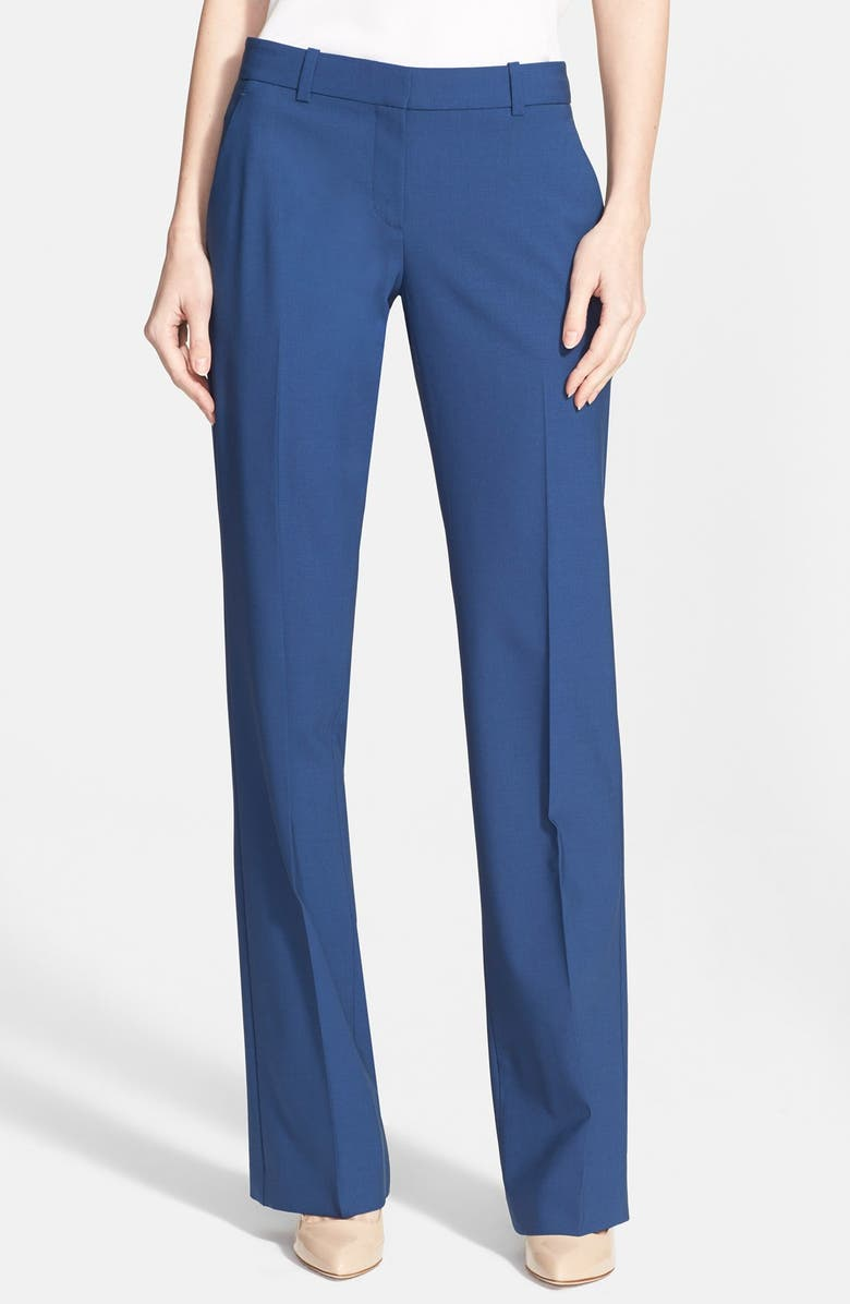 THEORY 'Emery 2' Wool Blend Pants, Main, color, 483