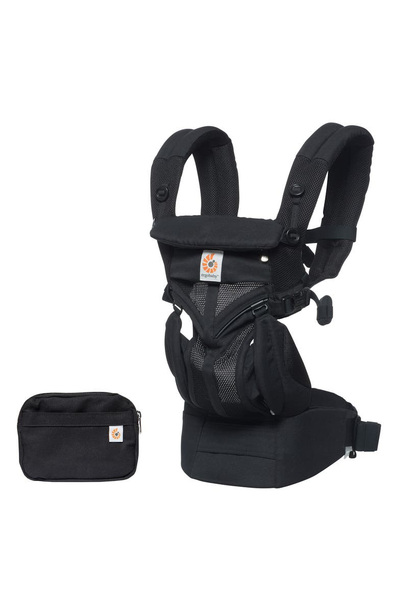 ERGOBABY Omni 360 Cool Air Baby Carrier, Main, color, ONYX BLACK