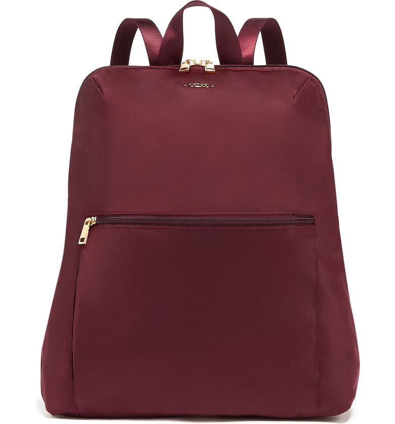 TUMI Voyageur - Just in Case Nylon Travel Backpack, Main, color, CORDOVAN