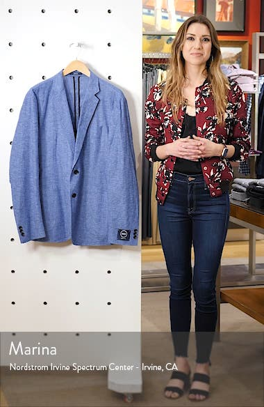 Extra Trim Fit Chambray Sport Coat, sales video thumbnail