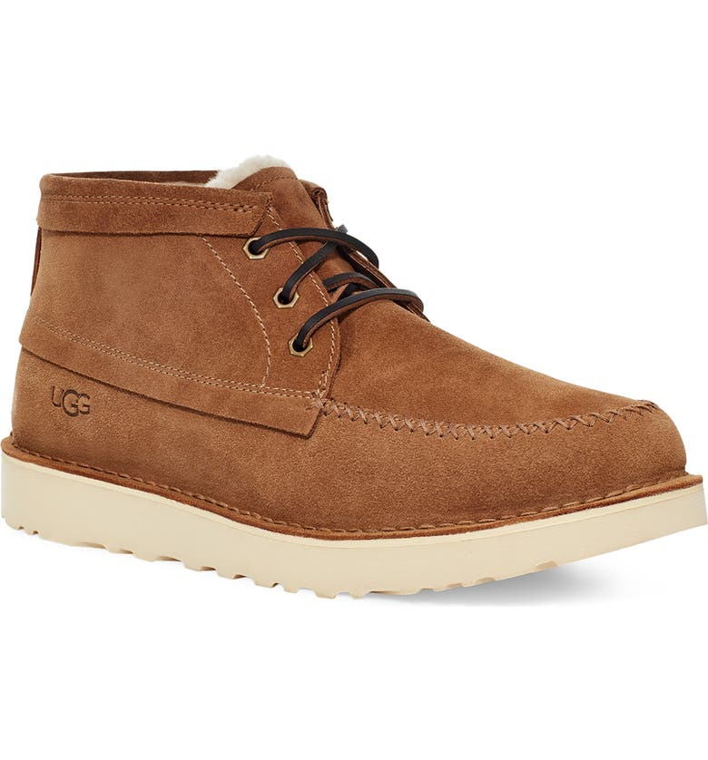 UGG<SUP>®</SUP> Campout Chukka Boot, Main, color, CHESTNUT SUEDE