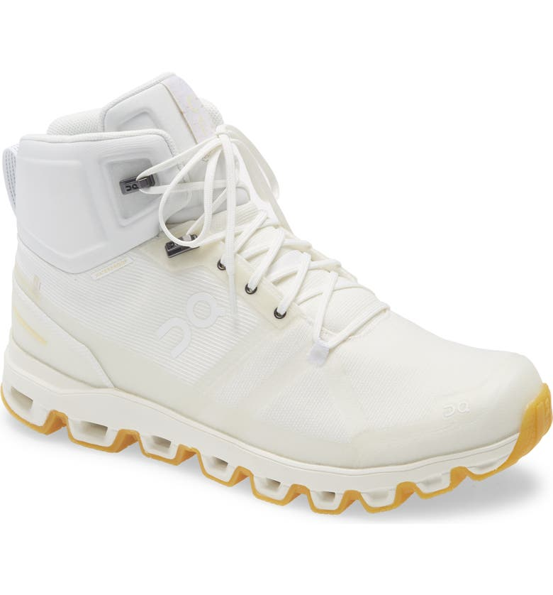 ON Cloudrock Edge Raw Waterproof Hiking Boot, Main, color, UNDYED
