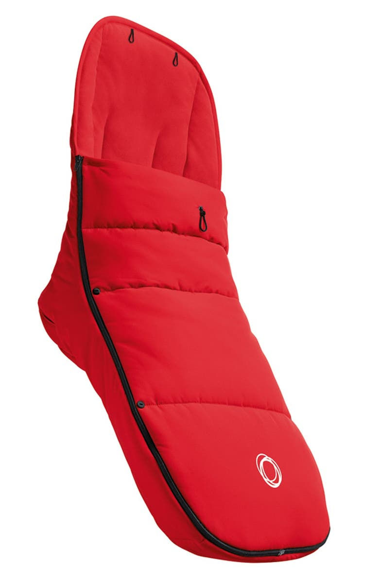 BUGABOO Stroller Footmuff, Main, color, RED