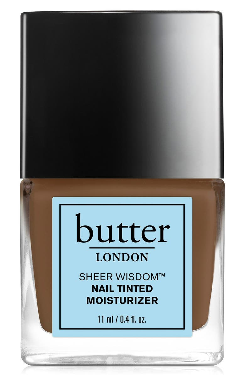 BUTTER LONDON 'Sheer Wisdom<sup>™</sup>' Nail Tinted Moisturizer, Main, color, 200