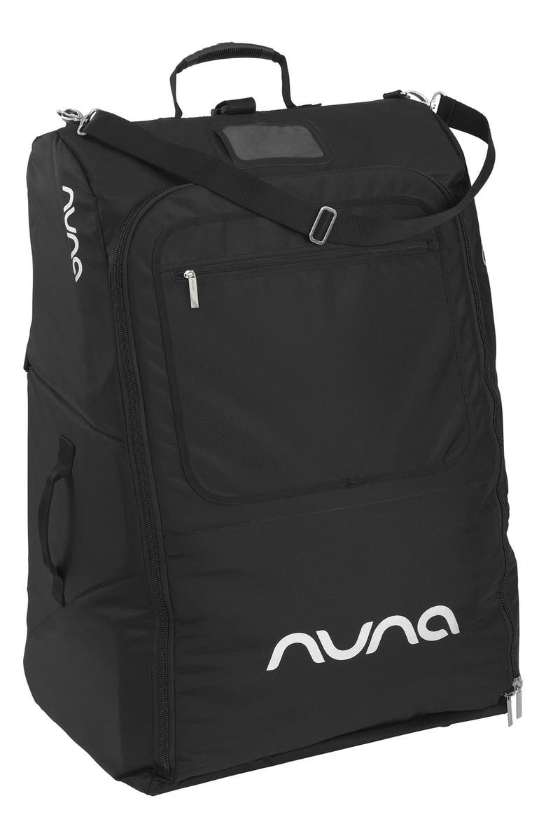 NUNA Stroller Transport Bag, Main, color, Black