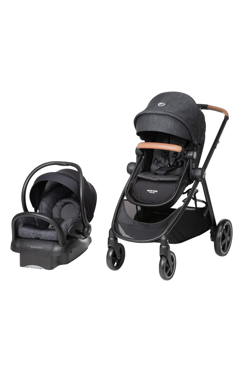 MAXI-COSI<SUP>®</SUP> Zelia Max 5-in-1 Modular Travel System, Main, color, NOMAD BLACK UMBER