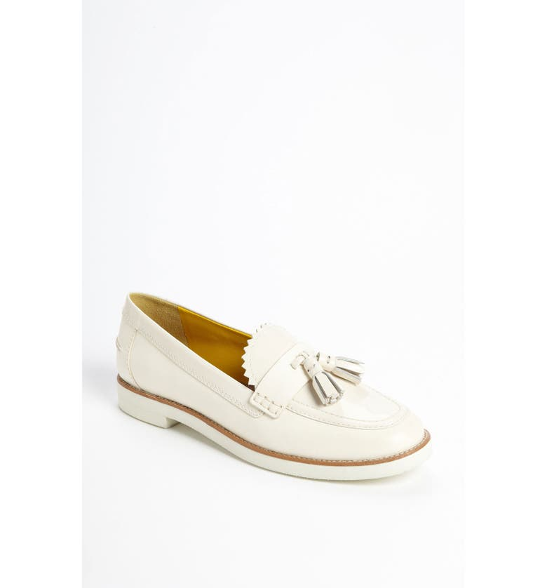 TORY BURCH 'Careen' Loafer, Main, color, BLEACH