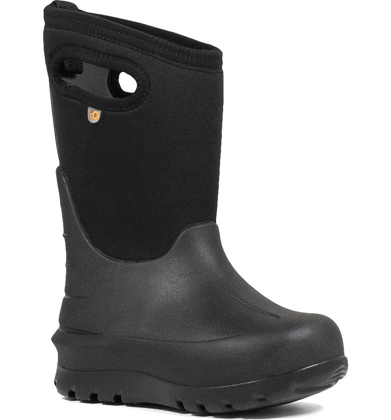 BOGS Neo-Classic Insulated Waterproof Boot, Main, color, BLACK