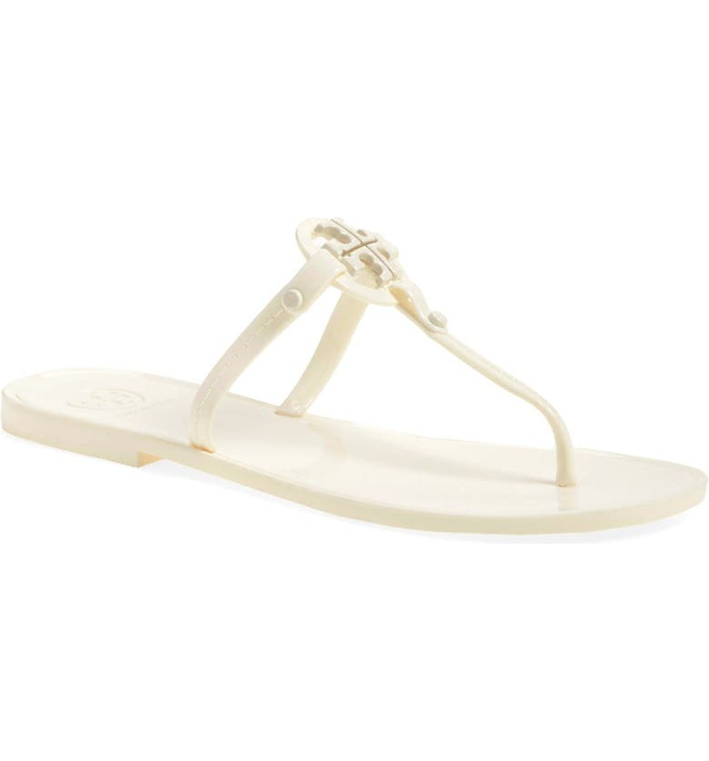 TORY BURCH Jelly Thong Sandal, Main, color, 100