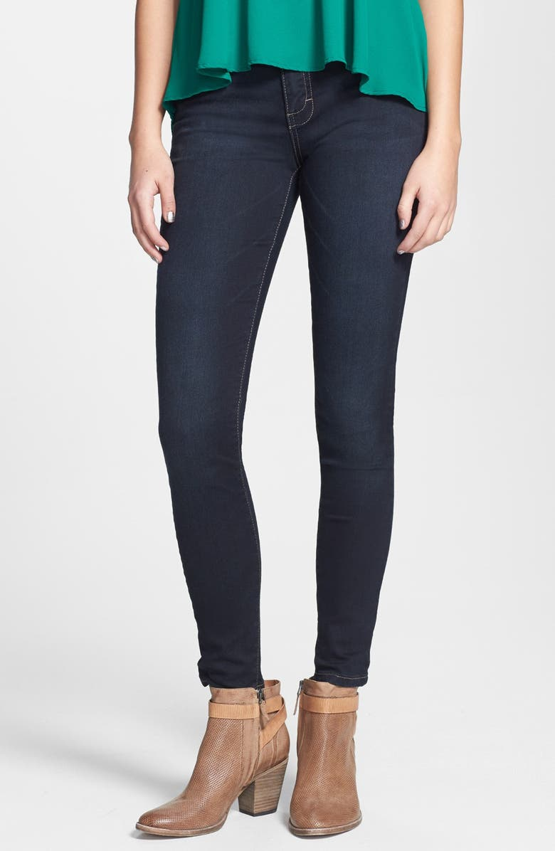 STS BLUE High Waist Skinny Jeans, Main, color, 400