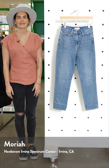 The Perfect Vintage High Waist Jeans, sales video thumbnail