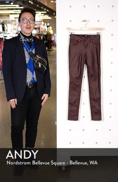 High Waist Coated Skinny Jeans, sales video thumbnail